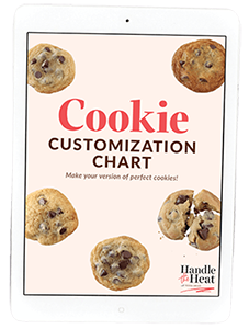 Cookie Customization Chart
