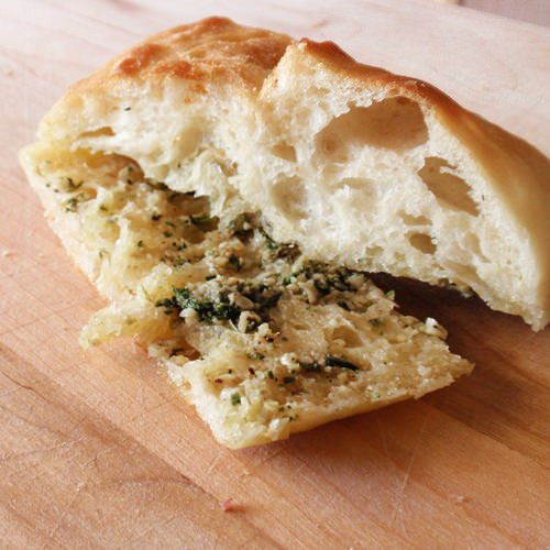 Garlic Ciabatta Bread
