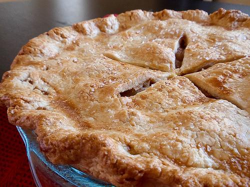 Double Crust Apple Pie - Handle the Heat