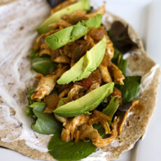 Mexican Pulled Chicken + A winner!