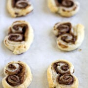 Nutella Palmiers or the easiest dessert to make!