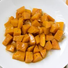 Maple-Braised Butternut Squash with Thyme