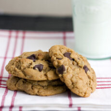 Chocolate Chip Peanut Butter Cookie – Switch to Whole Wheat