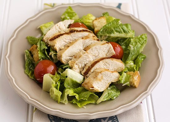 Grilled Chicken Caesar Salad - Handle the Heat