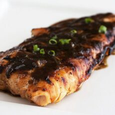 Soy-Ginger Salmon