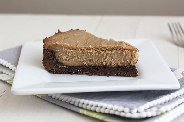PB brownie cheesecake