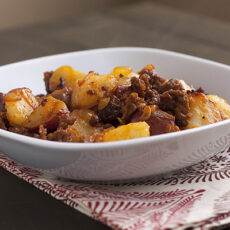 Potatoes & Chorizo