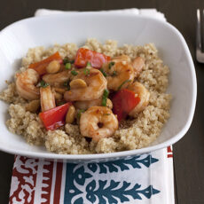 Take-out at Home: Kung Pao Shrimp