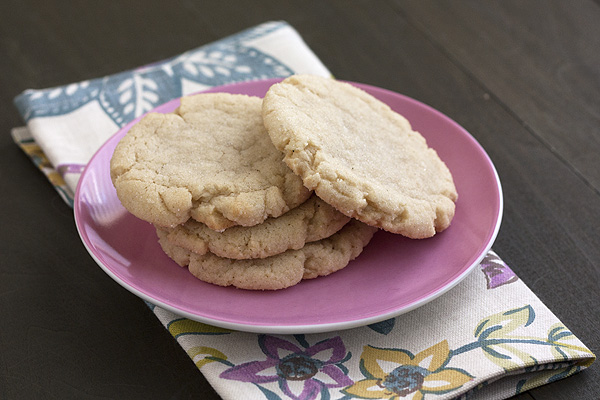 Chai-Spice Sugar Cookies - Handle the Heat