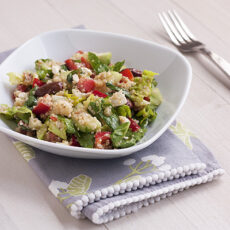 Mediterranean Salad with Quinoa