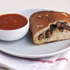 Sausage & Artichoke Calzones