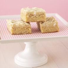 White Chocolate-Macadamia Nut Cookie Dough Blondies