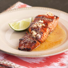 Honey Chipotle Lime Salmon