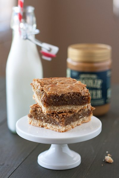 Brown Sugar Biscoff Bars