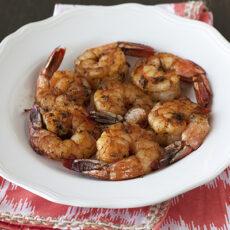 Grilled Shrimp with Smoky BBQ Rub