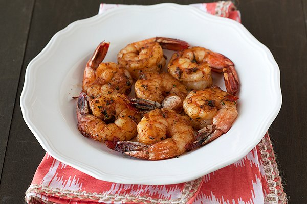 Grilled Shrimp with Smoky BBQ Rub