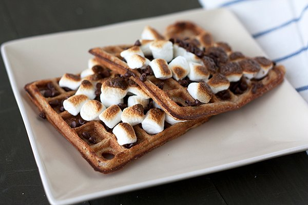 mores Waffles
