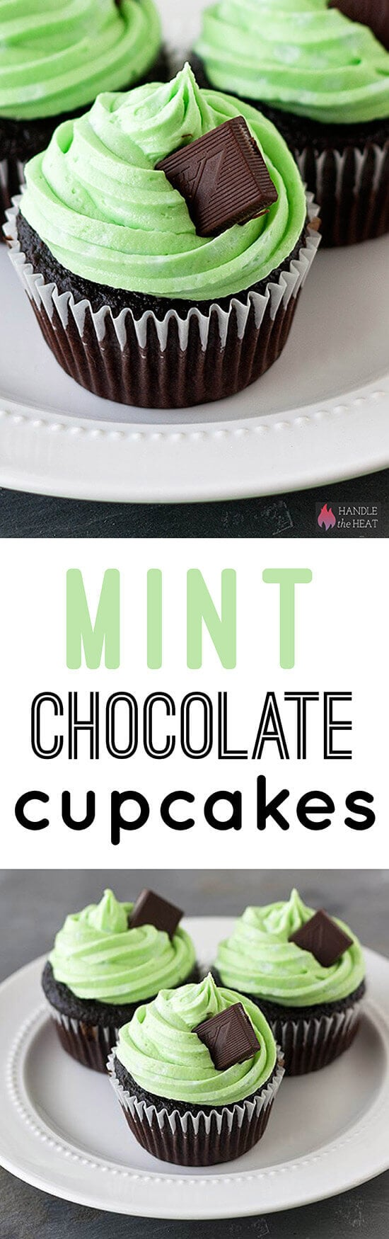 ... sweet flavors + absolutely adorable. Top them off with an Andes mint