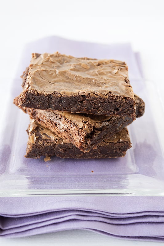 Crinkly Fudge Brownies are bound to become your family's favorite!