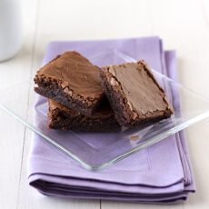 Crinkly Fudge Brownies