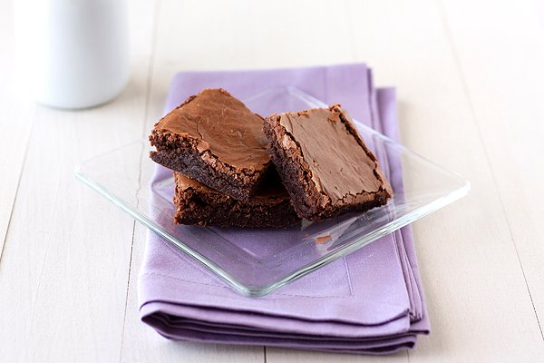 Crinkly Fudge Brownies are bound to be your family's favorite!