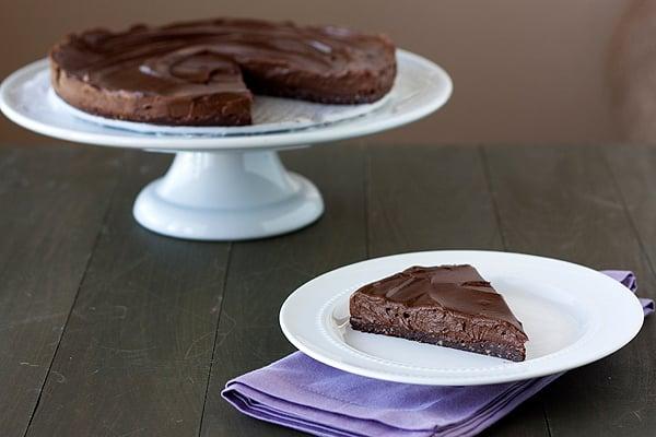 No-Bake Vegan & Gluten Free Chocolate Torte