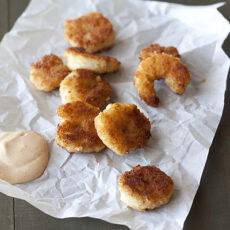 Pan-Fried Shrimp with Creole Mayonnaise