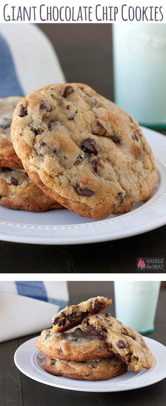 Giant-Chocolate-Chip-Cookies-Collage