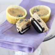 Peanut Butter & Oreo Cheesecake Cupcakes