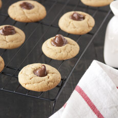 Biscoff Nutella Thumbprint Cookies
