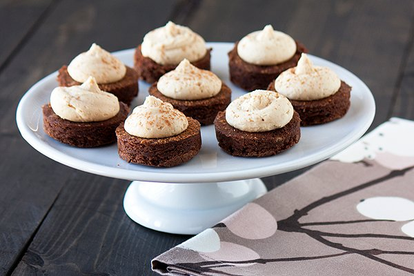 Fudgy Espresso Brownie Bites