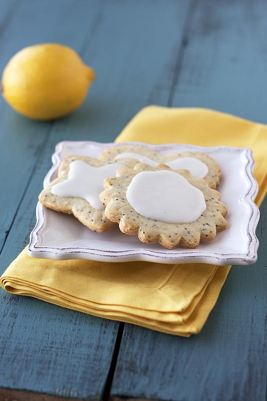 Lemon Poppy Seed Cookies - Handle the Heat