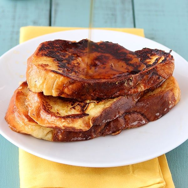 Challah French Toast - Handle the Heat