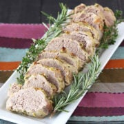 Herb, Garlic, and Dijon Pork Tenderloin