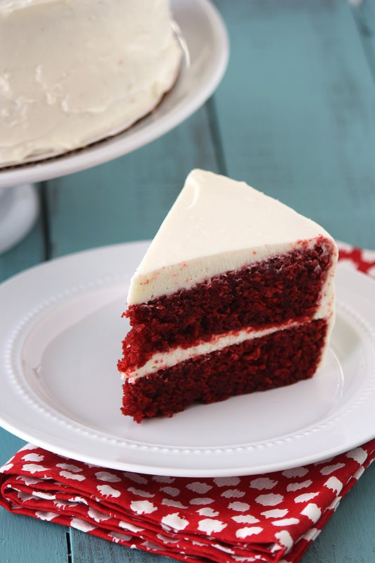 Southern Red Velvet Cake From Scratch