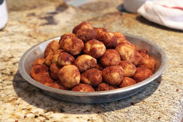 Cinnamon Bun Bites from Handle the Heat