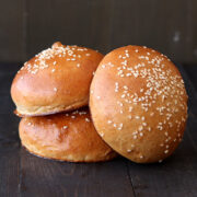 Whole Wheat Burger Buns from Handle the Heat