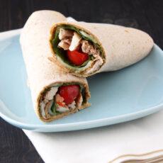 Chicken Caprese Sandwich Wraps