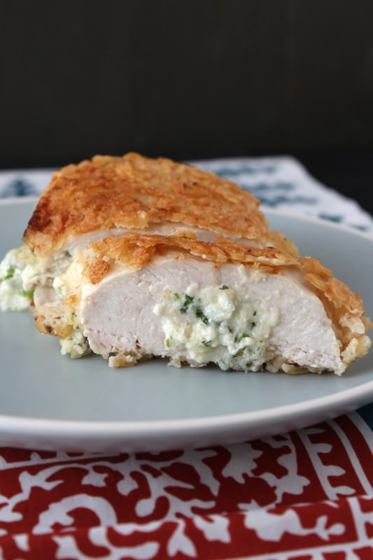 Nacho Stuffed Chicken from HandletheHeat.com