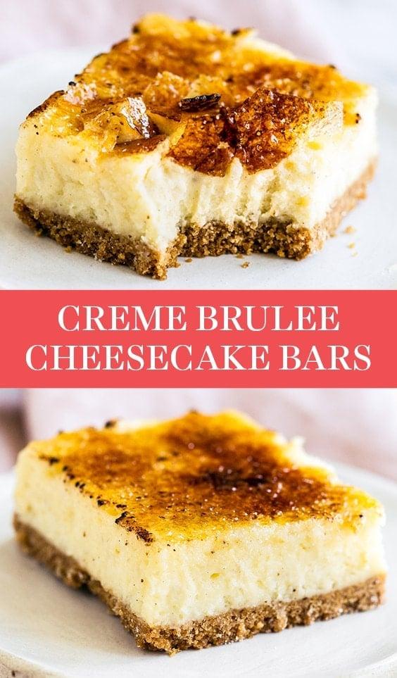 Creme Brulee Cheesecake Bars Recipe Tips