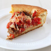 Deep Dish Pizza from HandletheHeat.com