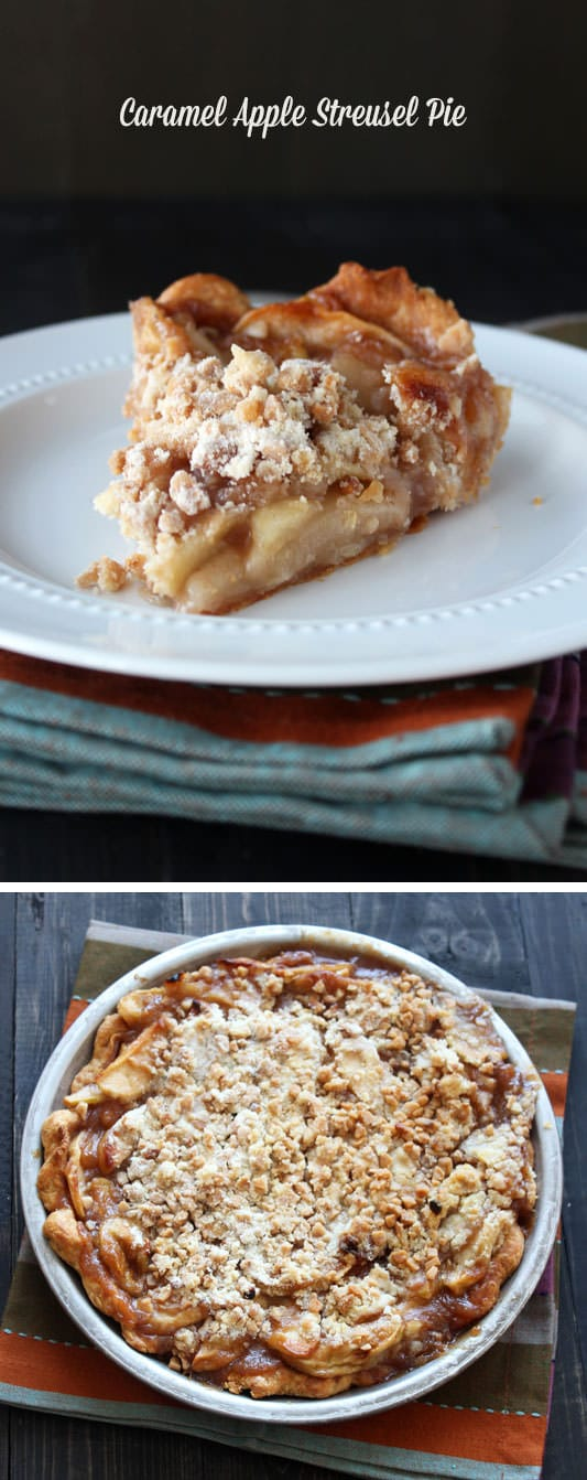 Caramel Apple Streusel Pie - requested EVERY holiday!!