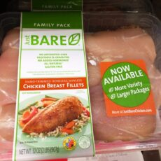 Just BARE® Chicken and a Chicken Cheat Sheet