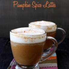 Video: Pumpkin Spice Lattes