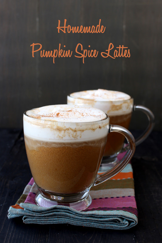 Video: Homemade Pumpkin Spice Lattes from handletheheat.com