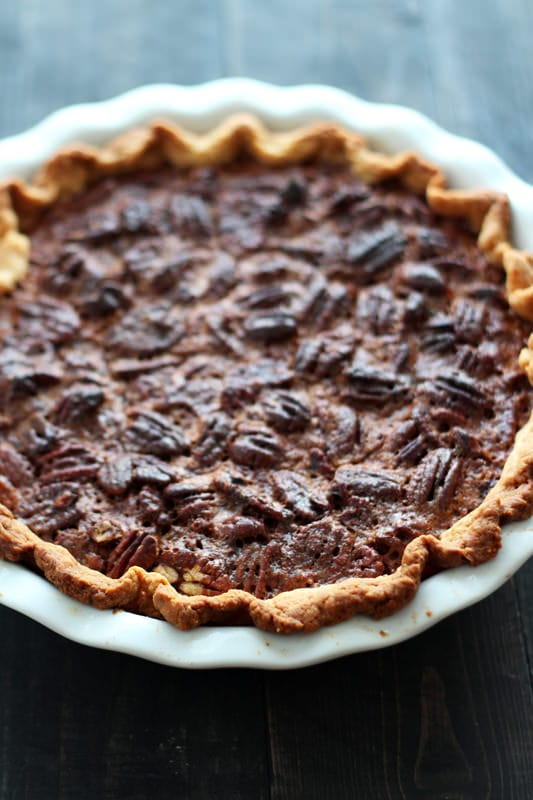 Chocolate Pecan Pie - Handle the Heat