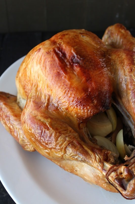 How to Brine a Thanksgiving Turkey for ultra juicy and tender meat!