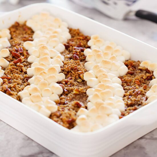 Sweet Potato Casserole: