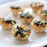 Spanakopita Bites - easy appetizer!