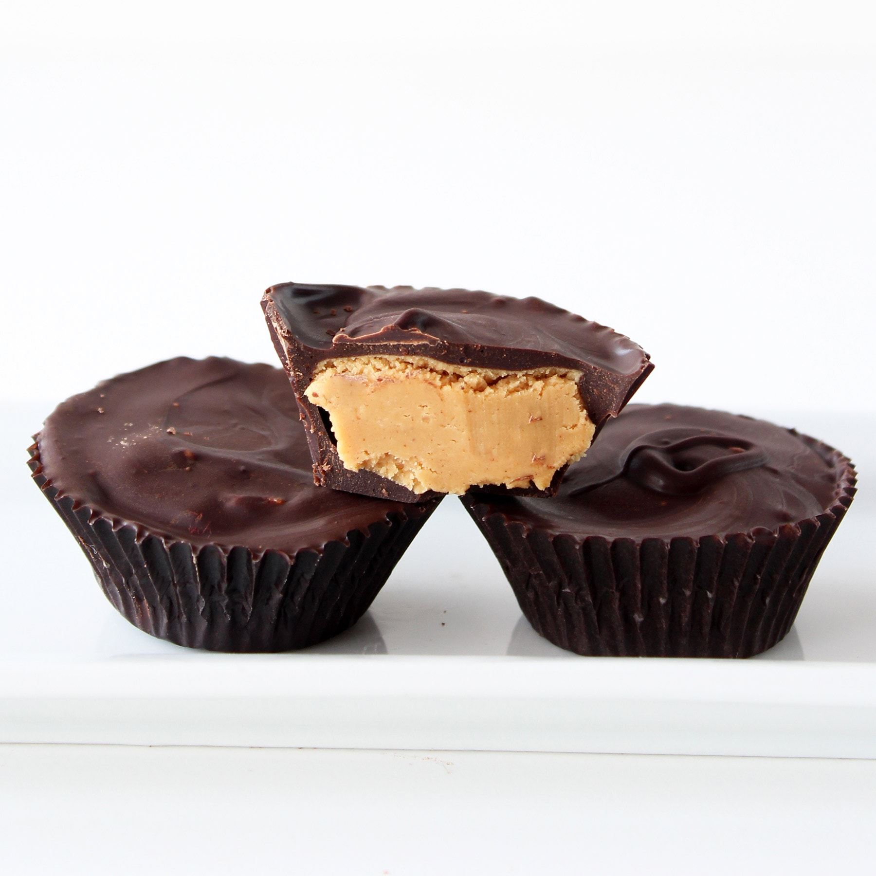 Homemade Peanut Butter Cups Handle The Heat
